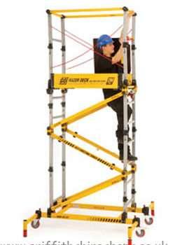 0.5m to 2.0m Razordeck Folding Tower