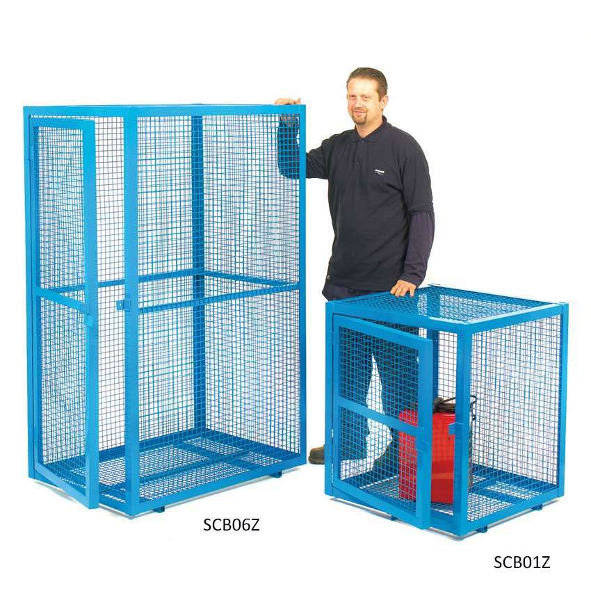 Gas Bottle Storage Cage Small Smiths Hire