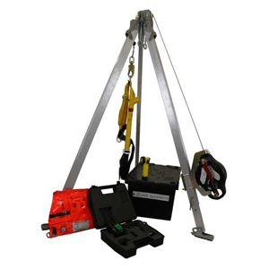 Confined Space Kit With Tripod & Harness