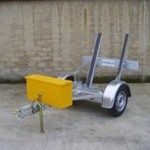 Single Drummer Roller Trailer