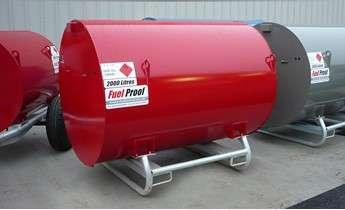 2000L Diesel Bunded Bowser Static