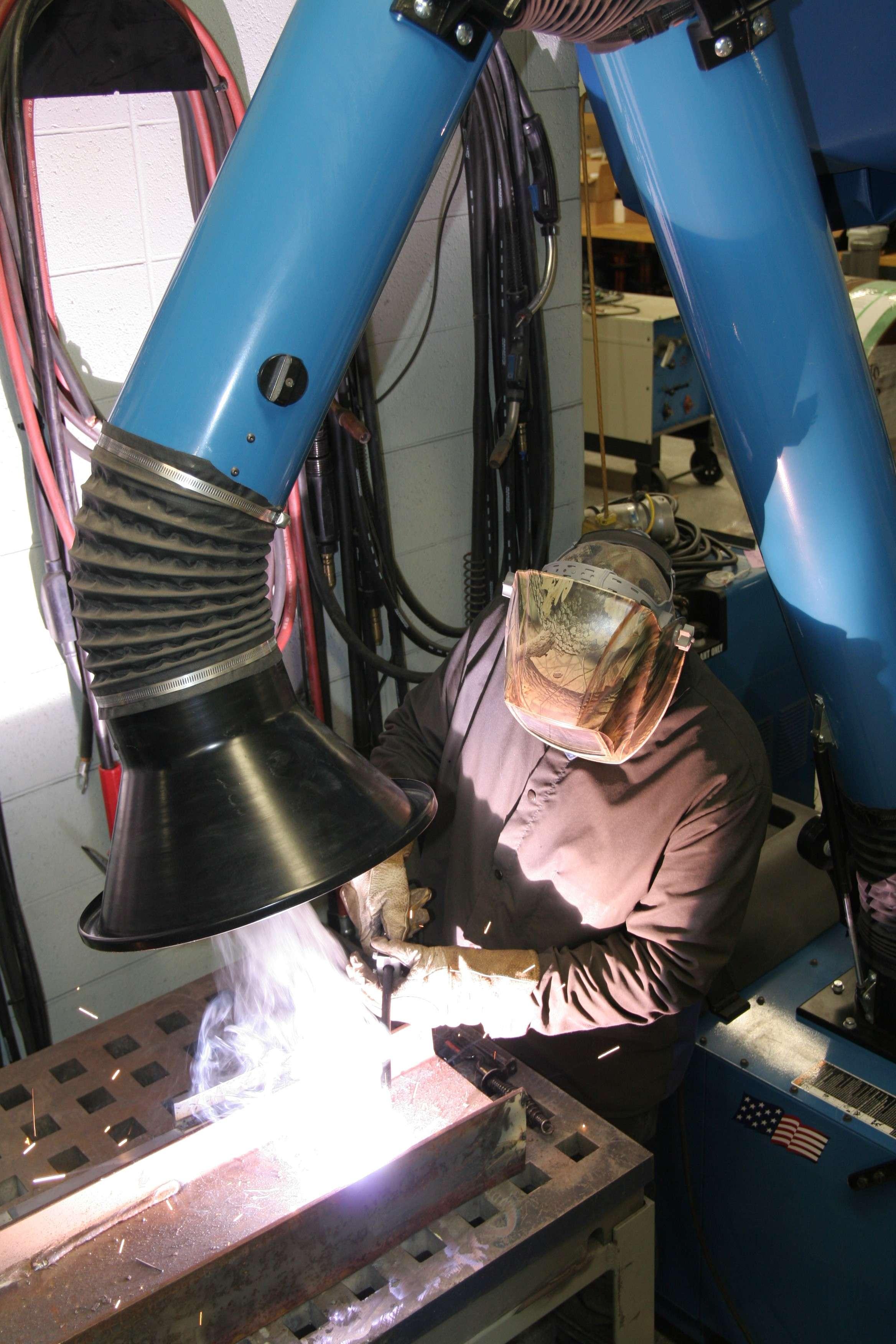 welding fume extractor with flexi arm - Welding Fume Extractor