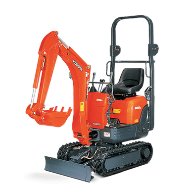 Mini Digger Kubota K008–3 0.8t Micro/Small for Hire Video