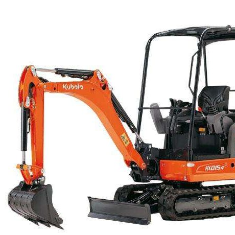 Kubota KX015-4 1.5t Mini Digger Video