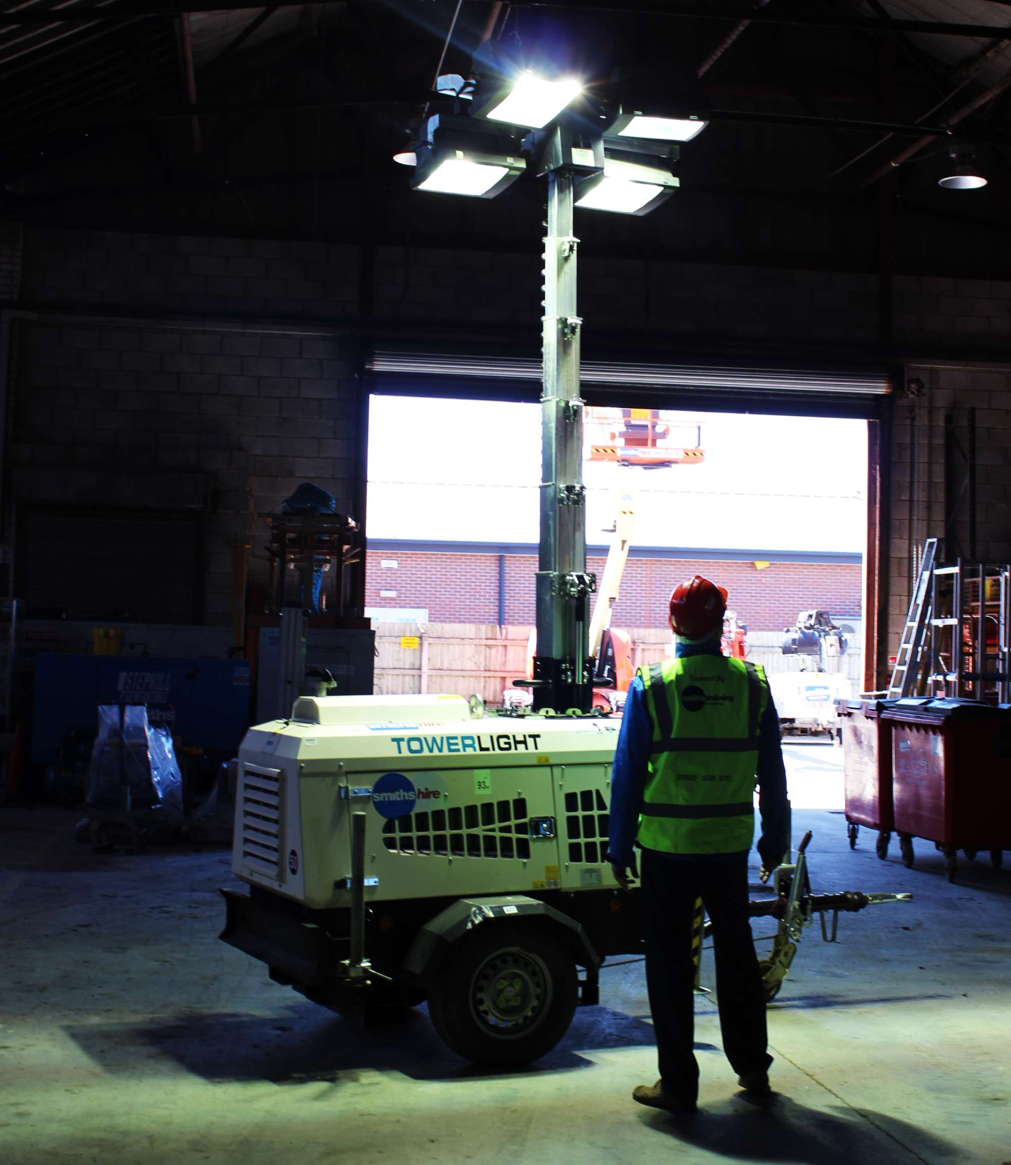 Commercial Lighting Hire: VT1 Eco 9.0m Lighting Tower