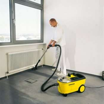 Carpet Cleaner Hire in use