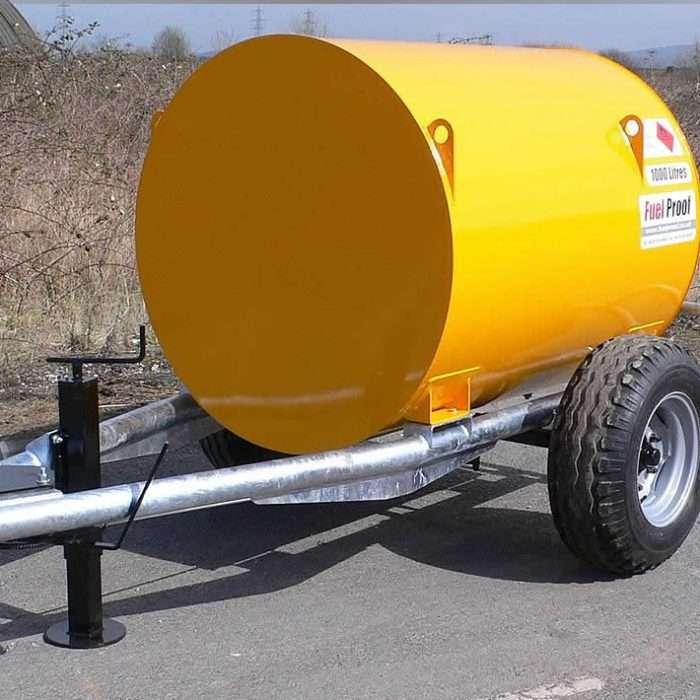 1000L Diesel Bunded Bowser Road Towable