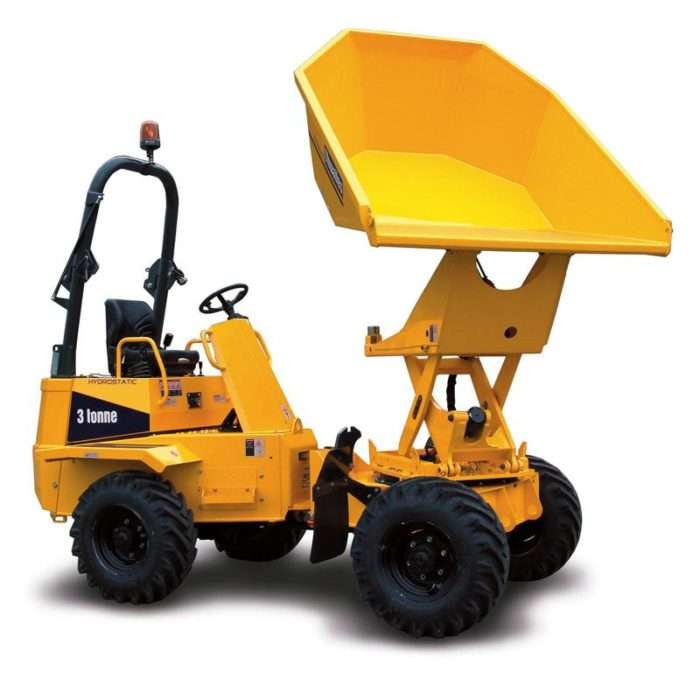 3.0t Dumper 4WD Swivel Tip Articulated