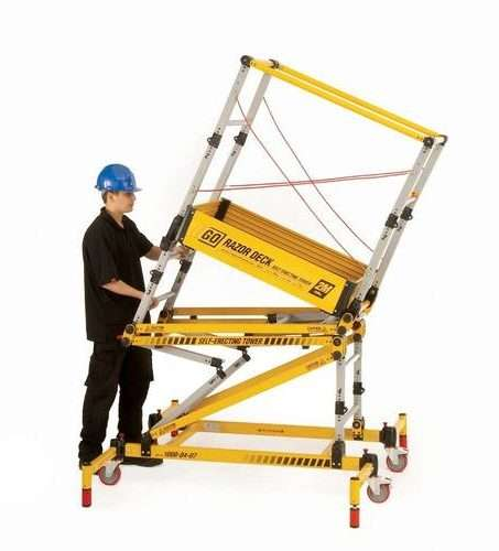 0.5m to 2.0m Razordeck Folding Tower