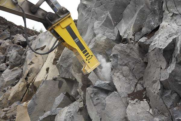 Hydraulic Breaker for 0 8t Excavator • Smiths Hire