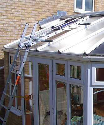 Conservatory Ladder Smiths Hire