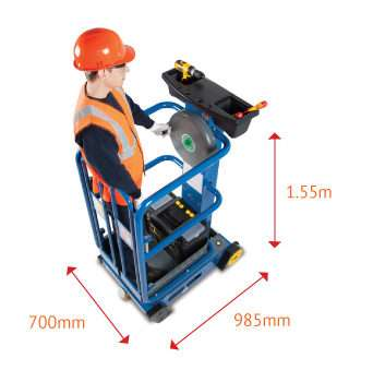 Pecolift 3.5m Low Level Access Platform Dimensions