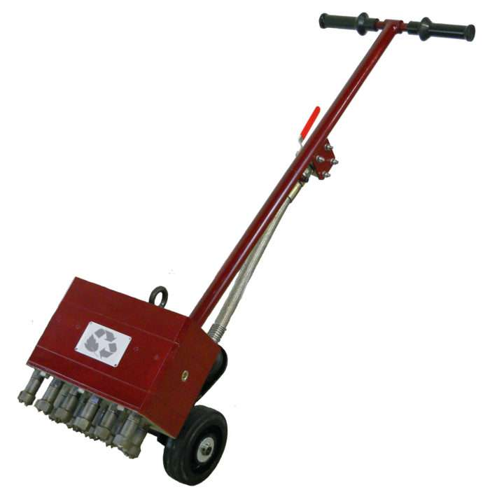 Pneumatic Multihead Floor Scrabbler