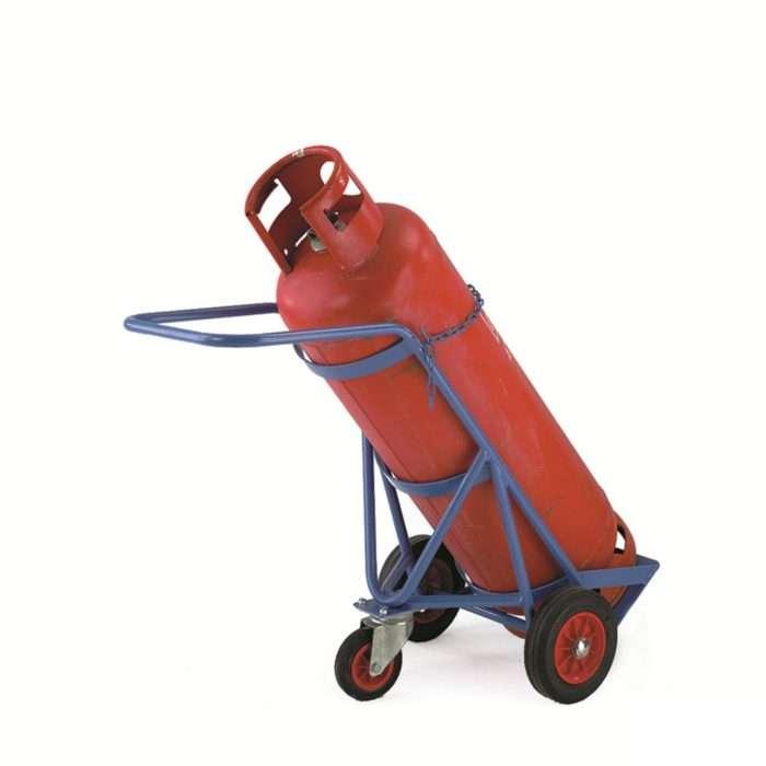 Single 47kg Gas Bottle Trolley Smiths Hire