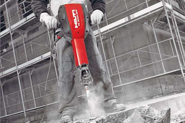 road breaker hire hilti te3000 heavy duty concrete breaker. Black Bedroom Furniture Sets. Home Design Ideas