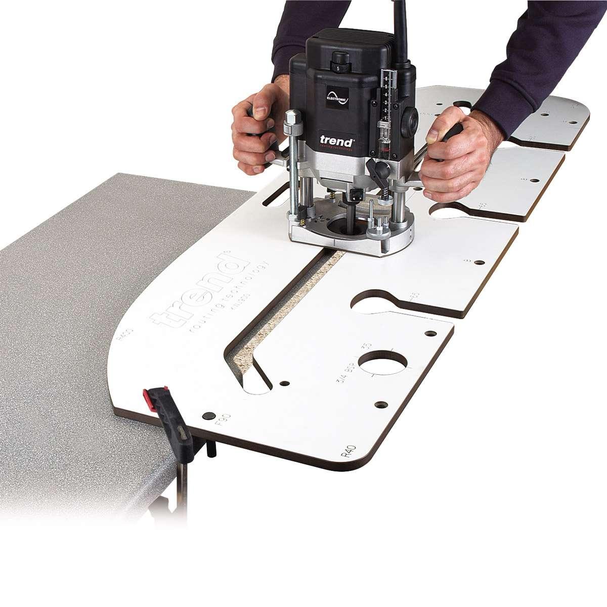 kitchen worktop cutting template - worktop jig smiths hire