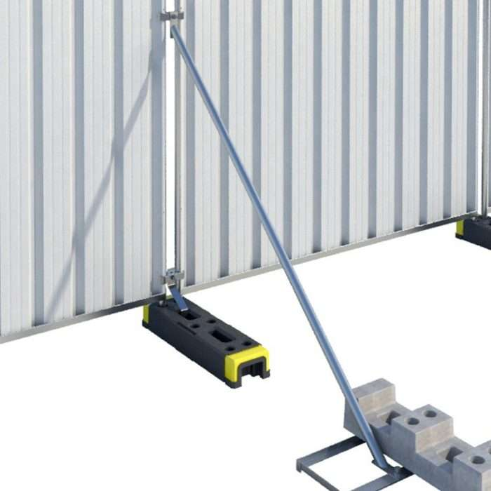 Temporary Hoarding Panel Stabiliser Tray Smiths Hire