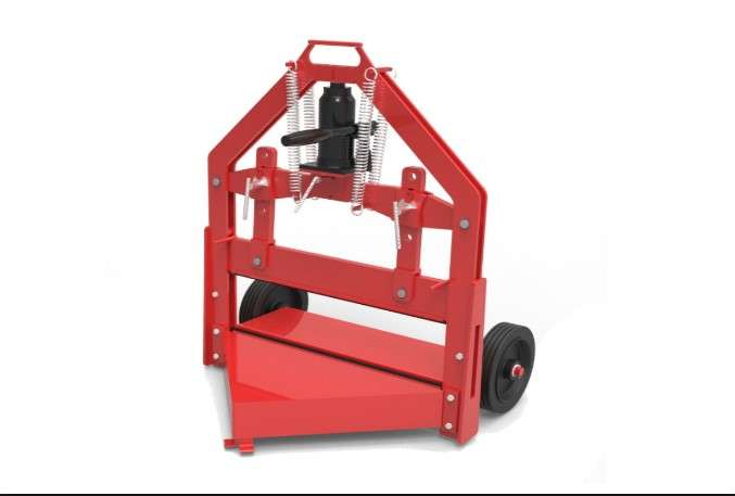 Stone/Block Splitter (Hyd.) – 610mm (24″) Video