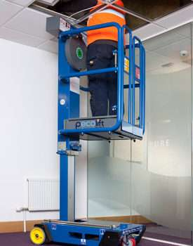 Pecolift 3.5m Low Level Access Platform in use