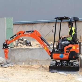 Excavators & Attachments (0.8t - 5t)