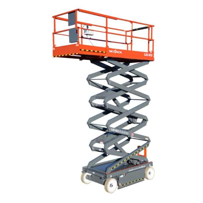 electric scissor lifts archives • smiths hire skyjack sj111 4632 scissor lift wh 11 8m