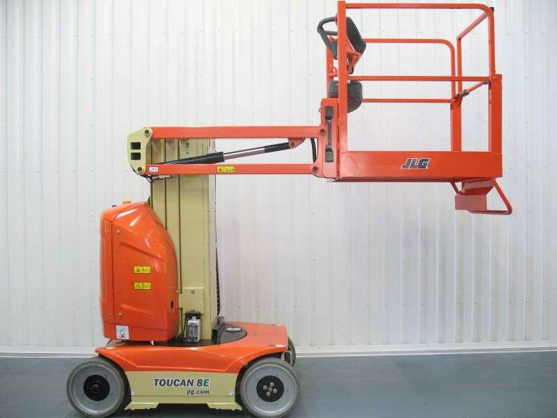 Jlg Toucan 8e  Wh 8 15m  Mast Lift Hire