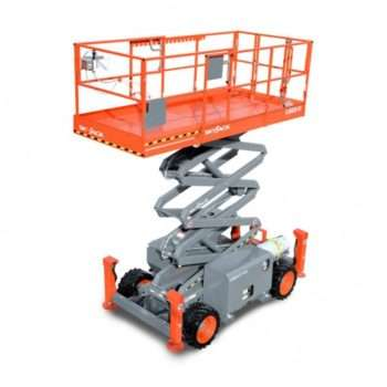Diesel Rough Terrain Scissor Lifts