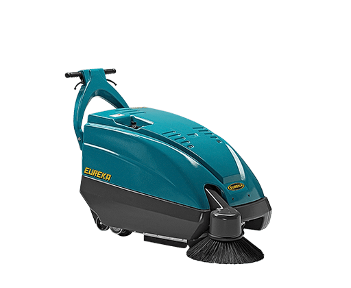 Driveable Battery Floor Sweeper