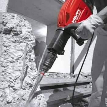 Hilti Demo In action
