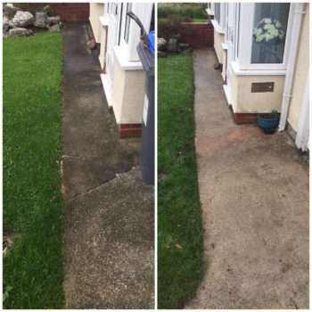 Power Washer before & after 1