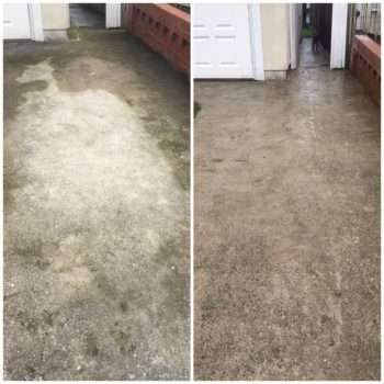 Power Washer before & after 2