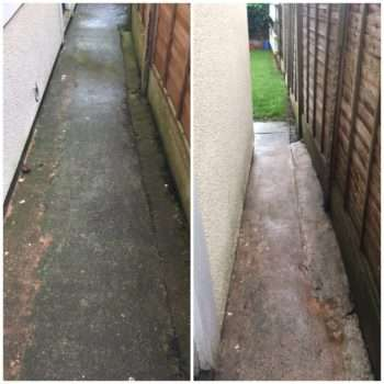 Power Washer before & after 3
