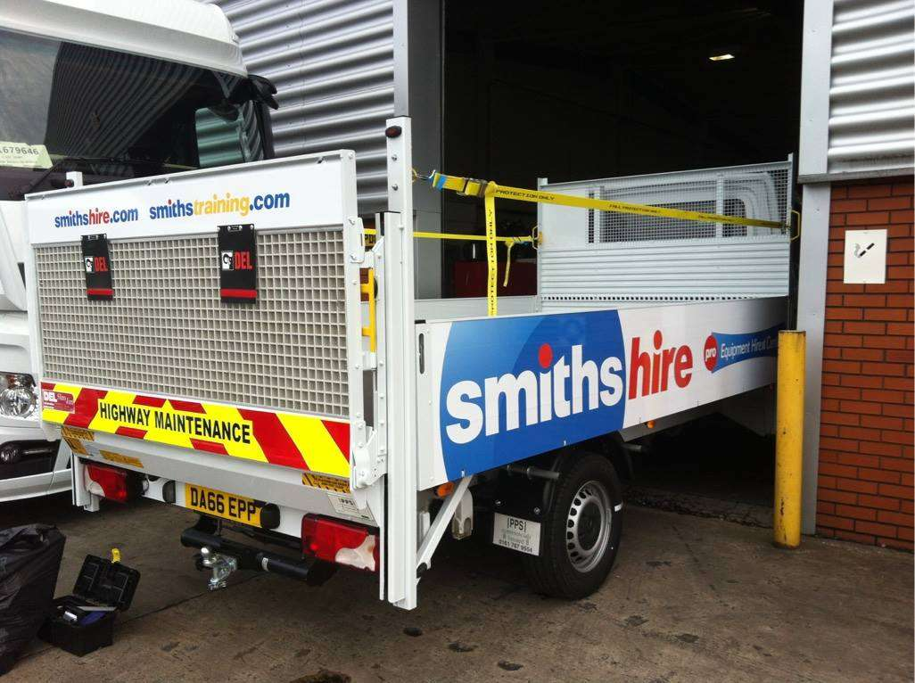 Smiths Hire vehicle livery