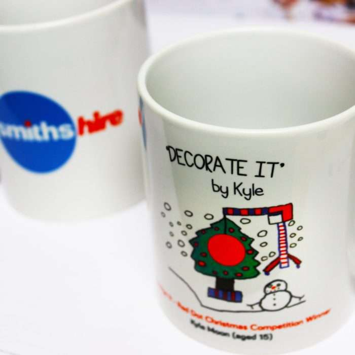 Smiths Hire Design a Mug Competition