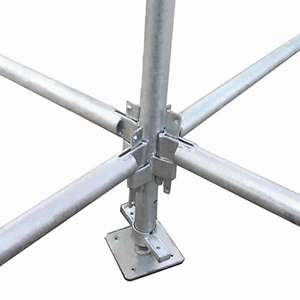 Quick Stage Scaffolding Pole And Clip Smiths Hire