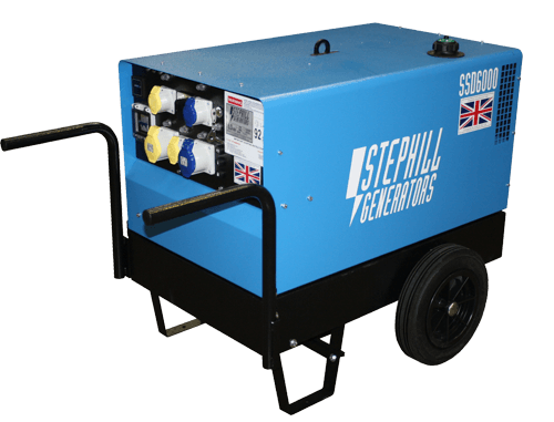 Portable Silenced Diesel Generators