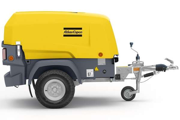 Atlas Copco XAS68 Towable Air Compressor Hire - Smiths
