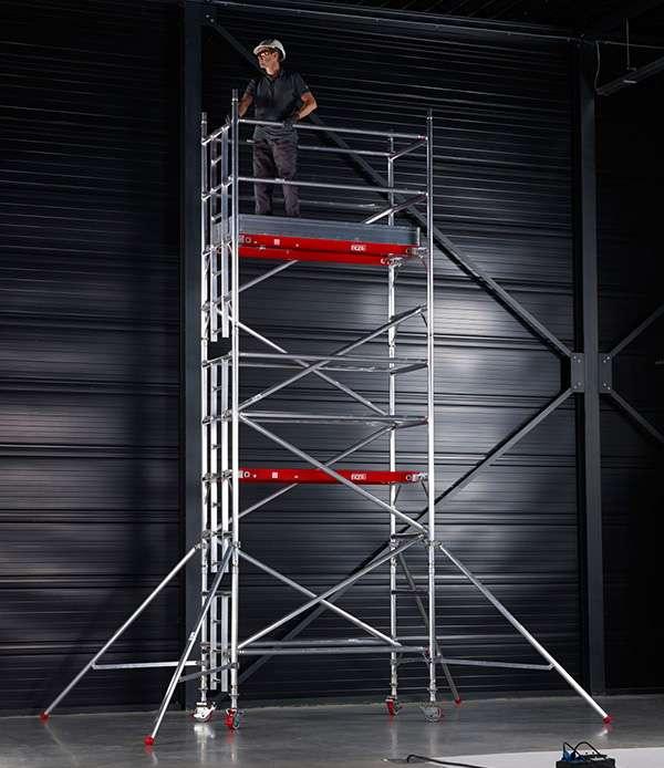 Agr Tower Narrow 0 8m X 2 5m Deck 3 2m Guardrail 2 2m