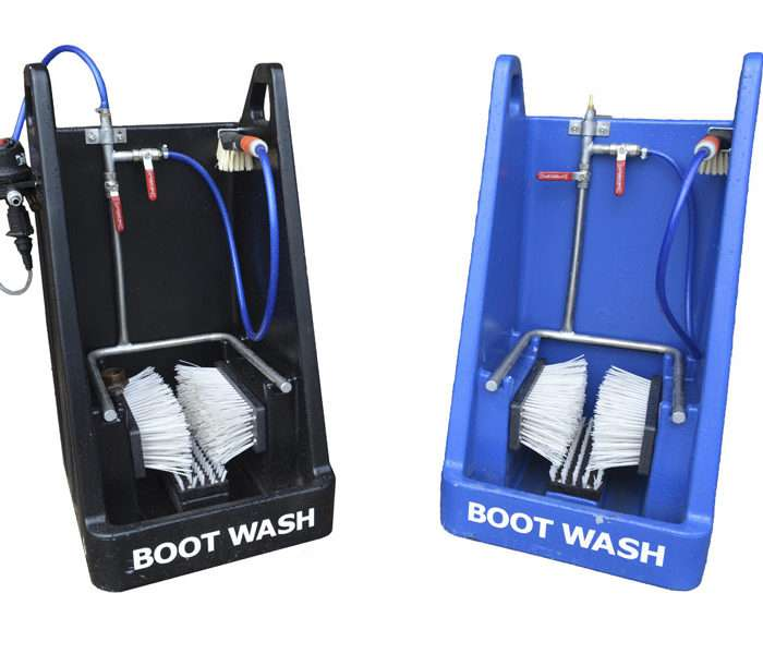 Boot Wash Station