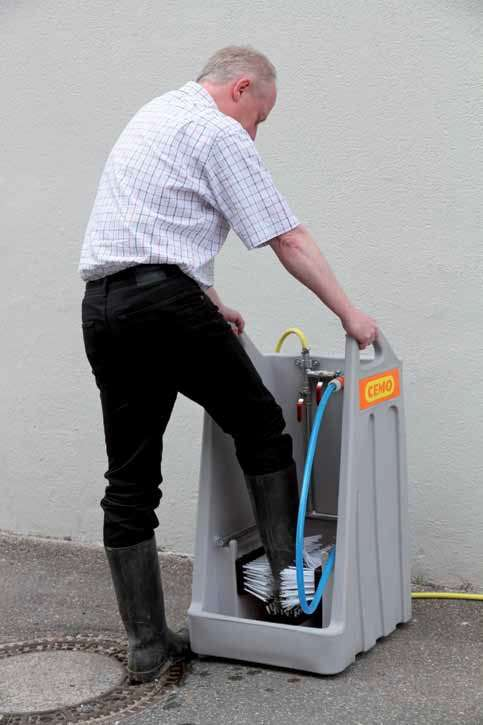 boot wash station hire - smiths equipment hire