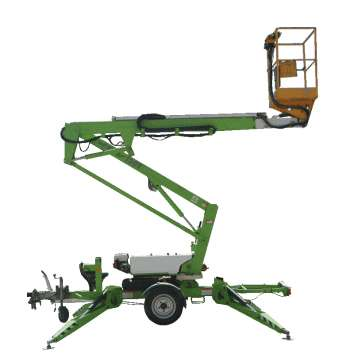 Trailer Mounted Boom Powered Access Hire