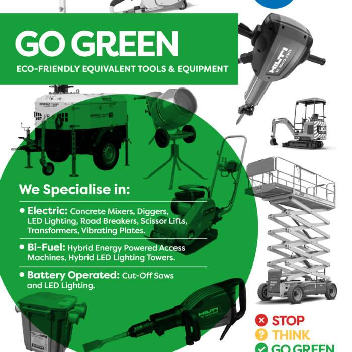Go Green Campaign Product Brochure Cover