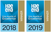 Hire Awards winner 2018 and 2019