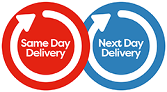 Same day and next day delivery