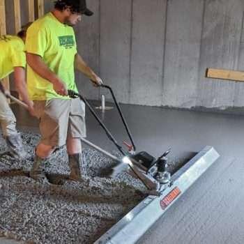 Concrete Finishing Hire
