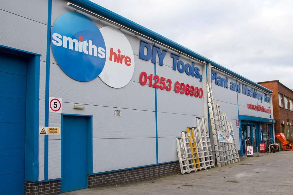 Smiths Hire Blackpool Clifton Depot