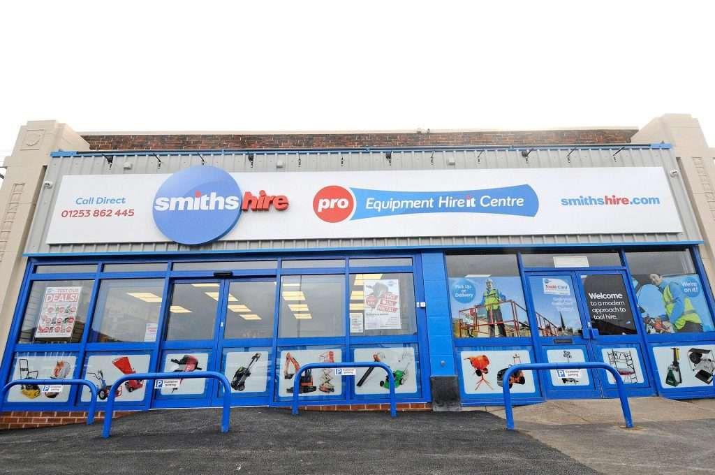 Smiths Hire Cleveleys Depot
