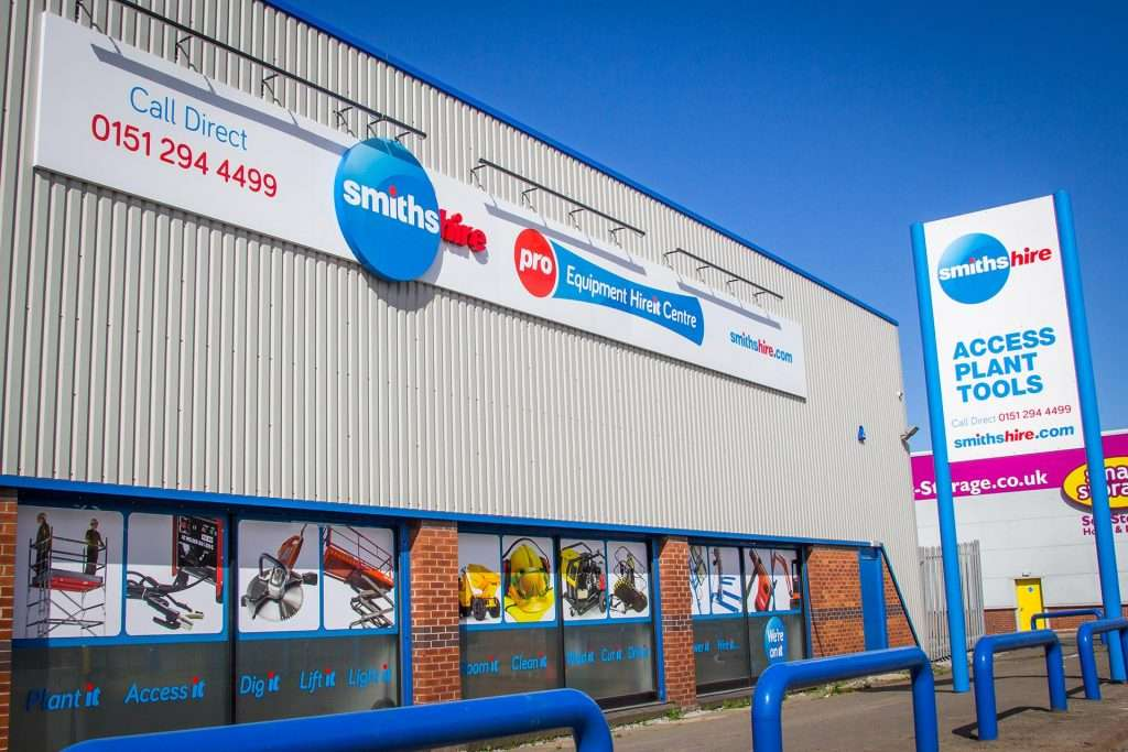 Smiths Hire Liverpool Depot