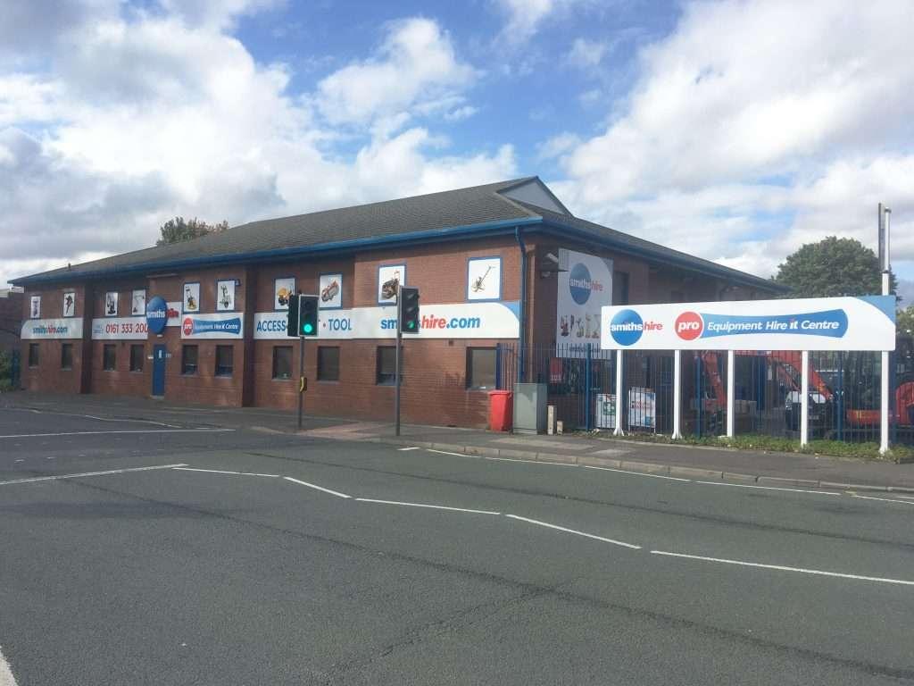 Smiths Hire Manchester Depot