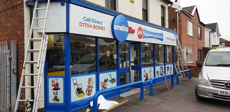 Smiths Hire Southport Depot